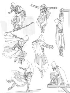 Would you rise up, come and meet me in the sky?, more practice sketches. Assessin Creed, All Assassin's Creed, Infamous Second Son, Edwards Kenway, Assassins Creed Series, Drawing Poses, Amusement Park, Drawing Reference, Concept Art