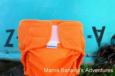 Mama Banana's Adventures: Gerber AIO Cloth Diaper Review