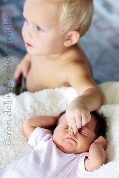 Haha thats real sibling love