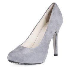 Shop Jewellery, Beauty, Fashions, Home at TSC - Online Shopping for Canadians Elizabeth Grant, Joan Rivers, Hush Puppies, Suede Pumps, Peep Toe, Heels, Grey, Fashion, Heel