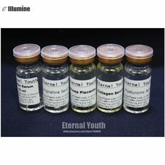 5pcs Set Boto x + Argireline + Hyaluronic Acid+Collagen+Sheep Placenta Firming Lifting Serum Anti-wrinkle Anti-aging Skin Care