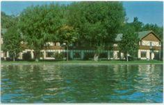 Hickory Corners MI Gull Lake Bible & Missionary Conference Postcard - Michigan