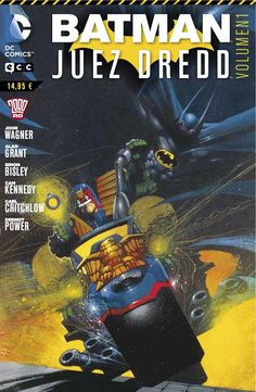'Batman/Juez Dredd (Vol. 1)'. Varios Autores