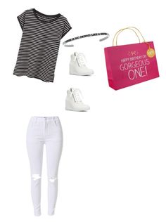 """""""Happy birthday to you my gorgeous sister"""" by fredericaehimen ❤ liked on Polyvore featuring MANGO and Happy Jackson"""