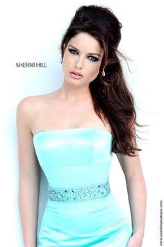 Sherri Hill Strapless Long Dress 32194