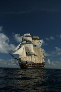 Sails on the Caribbean