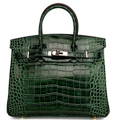 Ainifeel Women's Patent Leather Crocodile Embossed Top Handle Handbags (30cm, Emerald green) Ainifeel        Cow leather     Synthetic lining     Imported     Size 30cm: 11.8'' long, 5.5'' wide, 9'' high, 3.5'' handle     Size 35cm: 13.8'' long, 7'' wide, 10'' high, 4'' hande  $140=