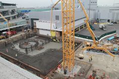 Milestone: On January 9, 2013, we accomplished a huge concrete pour for our new Control Tower.