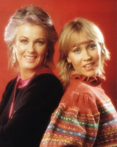 Agnetha and Frida 1982