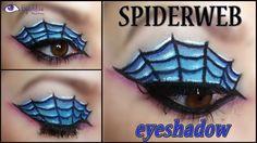 Spider Web Eyeshadow Halloween Makeup Tutorial by EyedolizeMakeup