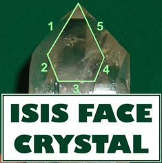 A discussion about Isis Face quartz crystals; what they are, how to determine if you have them, and how to work with their unique energy.