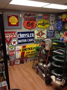 Gas and Oil room all for sale at SWAG Antiques!