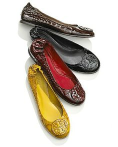 Tory Burch shoes. They are beautiful.Holy cow Some less than $99 I'm gonna love this site! #wedding #shoes #2014 #Tory Burch are