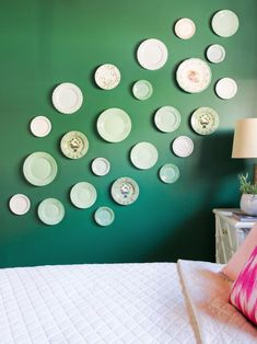 How To Create the Ultimate Plate Wall | HGTV >> http://www.hgtv.com/design/decorating/design-101/how-to-create-the-ultimate-plate-wall?soc=pinterest