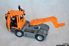 SISUTR08 | by havoccnp Lego Crane, Lego Truck, Lego Construction, Lego Worlds, Lego Models, Trucks, Lego Technic, Cool Lego, Legos