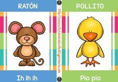 Sonidos onomatopéyicos de los animales Spanish Lesson Plans, Spanish Lessons, Circle Time Songs, Spanish Words, Reggio Emilia, School Colors, Infant Activities, First Grade, Special Education