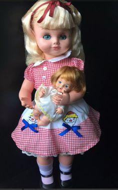Mãezinha ano 1977. Boneca antiga da ESTRELA.