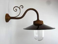 Außenlampen - Außenleuchte, Hoflampe, Gartenlampe, Modell 20 - ein Designerstück von lampenbarabas bei DaWanda Designer, Wall Lights, Etsy, Lighting, Home Decor, Light Bulb Vase, Scale Model, Appliques, Decoration Home