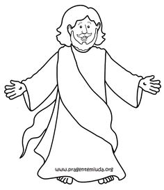 Jesus Is My Friend Coloring Page from TwistyNoodlecom All about