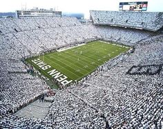 Penn State Whiteout! Like no other stadium, no other school can compare.