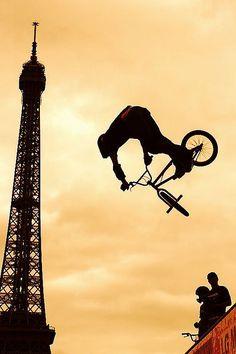 BMX in Paris. #bmx ##paris