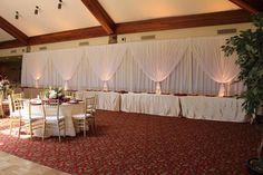 #backdrop #headtable #drape #lighting #midland #boydsevents Wedding Events, Weddings, Backdrops, Table Decorations, Lighting, Furniture, Home Decor, Homemade Home Decor, Light Fixtures