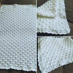 Blanket, Crochet, Fashion, Crochet Hooks, Blankets, Moda, La Mode, Crocheting, Fasion