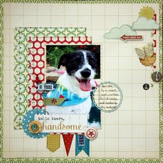 Just love this very special layout.  KrissyClarkMcKee did one fabulous job.