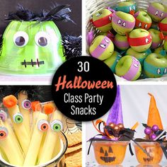 Store Bought Camping snack – PrePackaged Halloween Class Party Snack Ideas… Shop Buying Camping Snack – PrePackaged Halloween Class Party Snack Ideas … Camping Food Ideas No Cooking Halloween Class Treats, Halloween Fruit, Classroom Halloween Party, Halloween Snacks For Kids, Halloween Treats For Kids, Fete Halloween, Halloween Ideas, Classroom Birthday Treats, Kindergarten Halloween Party