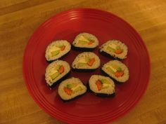 Picture of Vegetarian Sushi for Beginners: How to Create a Basic Sushi Roll