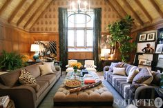 Maison de Luxe showhouse. Design Nathan Turner.