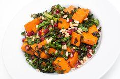 Grønnkålsalat med søtpotet - Vegetarbloggen