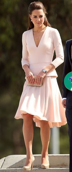 #spring #fashion | Shades Of Pink | Kate Middleton