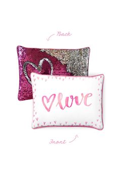 Valentine's Day [Limited Edition] w/ Reversible Pink & Silver Sequins (Pre-Order)