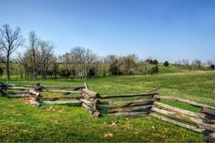 The battlefield at Perryville, Kentucky. The battle there and the invasion of Kentucky were both unsuccessful for Bragg.