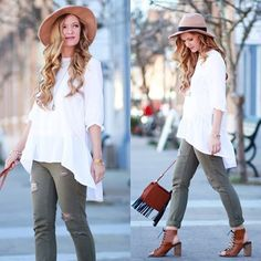 Going casual. #chicwish #chic #shoppingonline #sale #shop #casual #ootd #outfit #blogger #fashion #fashionblogger #style #blouse #white