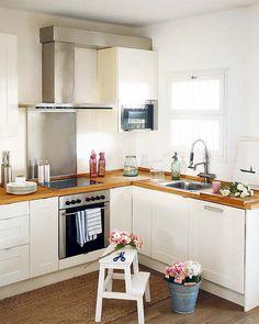 White Step Ladder for the kitchen