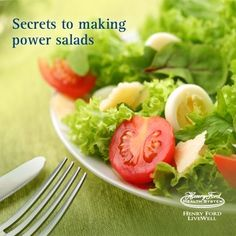 Make more nutritious, delicious and beautiful salads with these simple #tips!