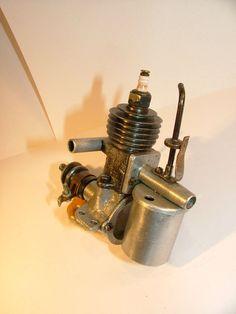 Belmont Gnat RARE vintage ignition model aircraft engine | eBay