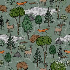 sweet forest pattern