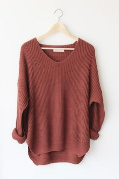 Oversized sweater - perfect for fall winter  337f5b9d4