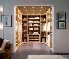 32 Hermosos y lujosos diseños para closets o guardarropas | Interiores