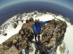 14,179 feet on the top of Mt Shasta in California