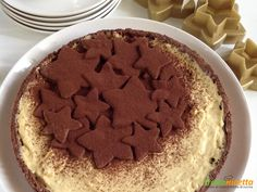 Crostata stellare allo zabaione  #ricette #food #recipes