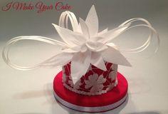 White Flower Fantasy - Wafer Paper
