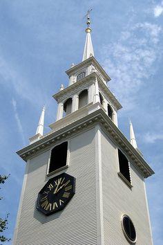 RI - Newport: Trinity Church #scenesofnewengland #soNE #soRI #soRhodeIsland #RhodeIsland #RI #soNEliving #TheOceanState