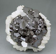 Sphalerite with Calcite - Russia