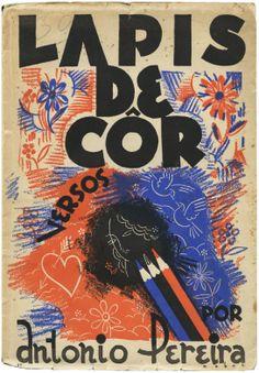 Lápis de côr, António Pereira, design Roberto Nobre, 1937