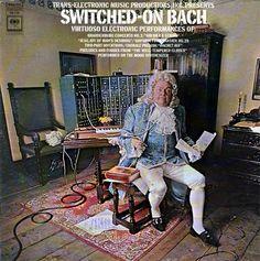 Otra versión de la portada del álbum Switched-On Bach de Wendy Carlos   WENDY CARLOS