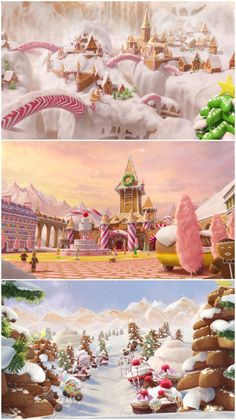 Legends of Oz Candy Houses New Animation Movies, Candy House, Candy Art, Cute Candy, Cute House, Up Book, House Drawing, Grafik Design, Stop Motion
